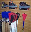 badminton, sports equipment, softball baseball, athletic clothing